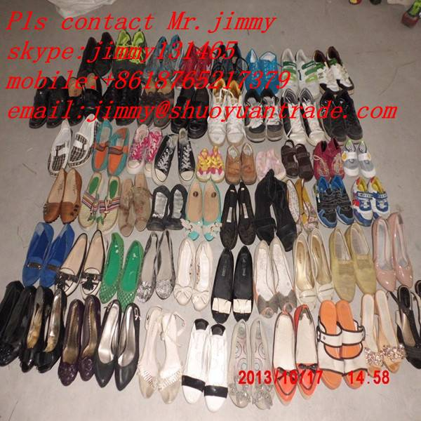wholesale used shoes in bales for sale