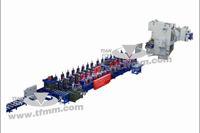 TF building, storage use C60-250 shape punch roll forming line