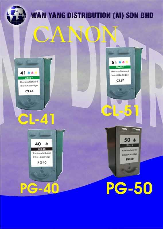 Canon Compatible Inkjet Cartridge PG40, CL41