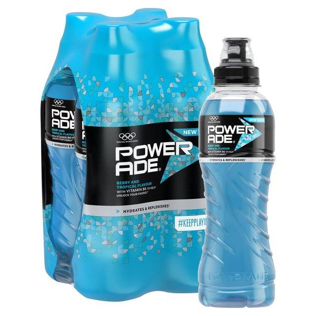 Powerade ion4 500ml all flavors energy drink