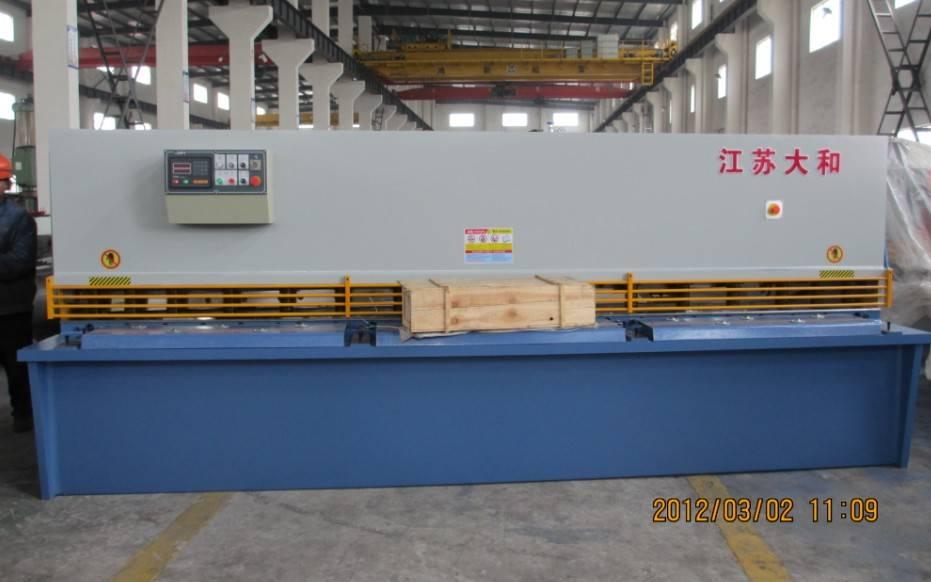 hydraulic swing beam shearing machine QC12Y-12x3200