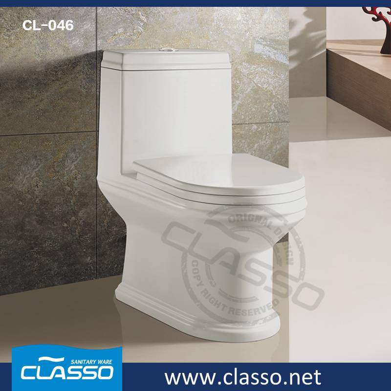 Hotel siphonic toilet CLASSO new design water closet CL-046