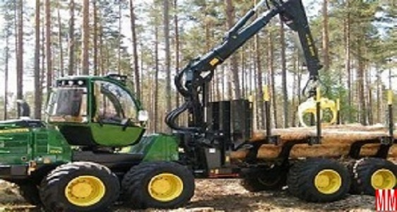 slewing bearings for forest machinery