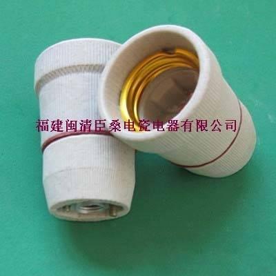 E27-109 Porcelain lampholder