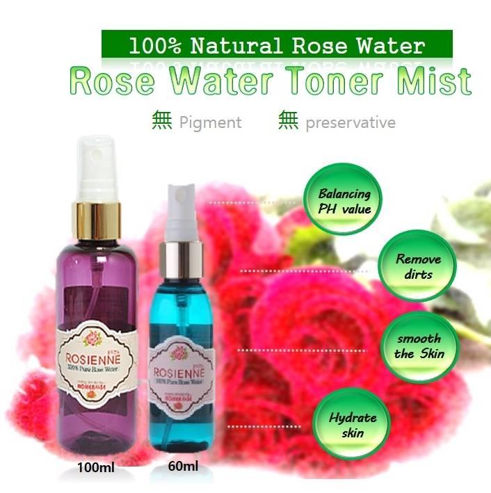 HOMEROSE Rose Water Toner mist
