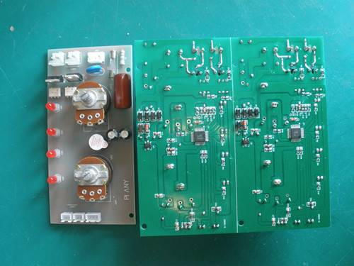 water heating and electric blanket circuit board