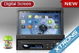 D788A-7 Single Din Android 4.1 Multi touch Car DVD Player