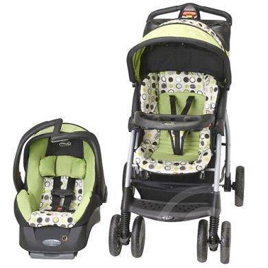 Evenflo Aura Select Travel System Stroller