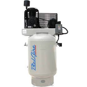 BelAire 10-HP 120-Gallon Two-Stage Air Compressor (208-230V 3-Phase) w/ Magnetic Starter