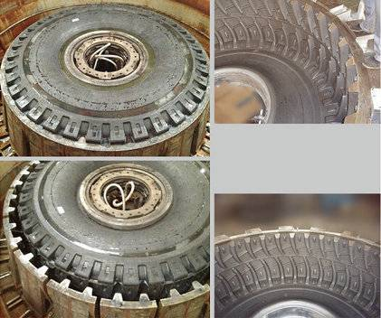 All Steel Giant Engineering Segment Tyre Mould