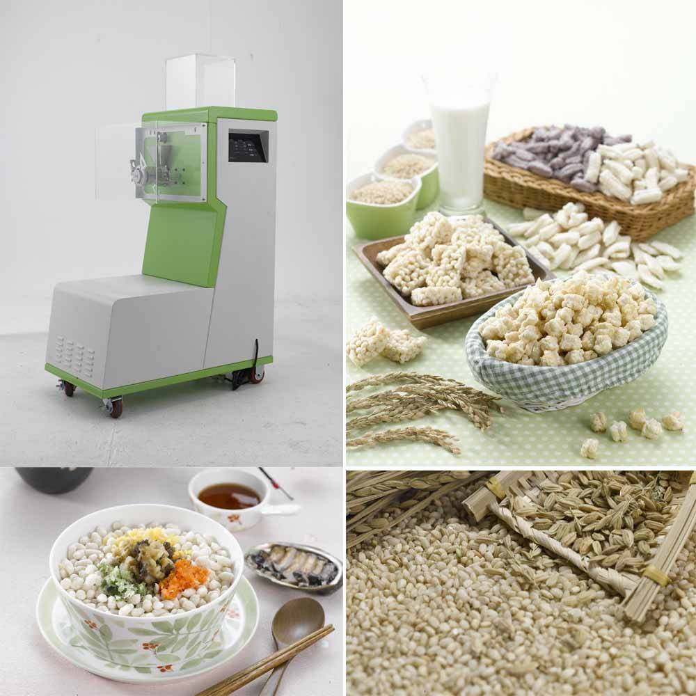 Extruder for Nutritious Grain Snack