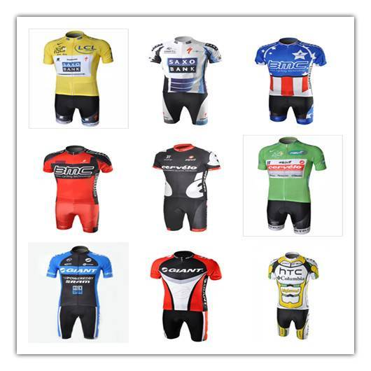 2010-2011 pro team cycling wear small rally