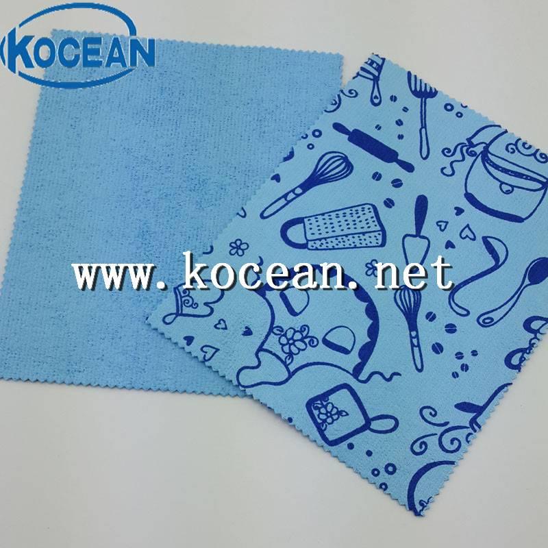 Microfiber PU printing cloth