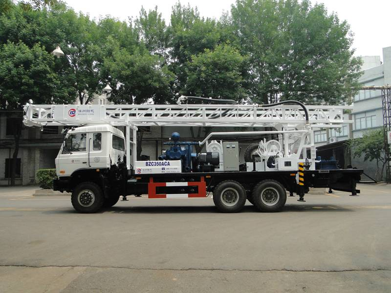 Truck mounted drilling rig, drilling diameter 1500m