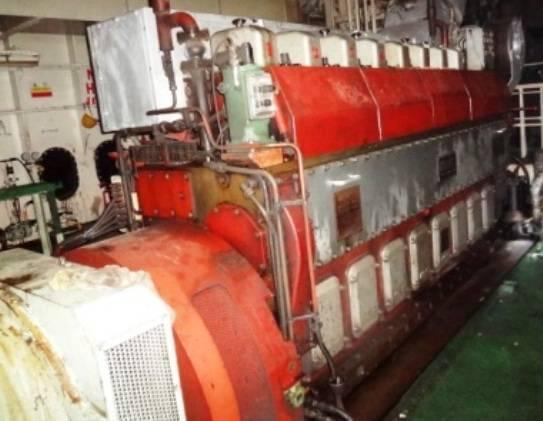 Marine Diesel Engines/Generators MAK for SALE
