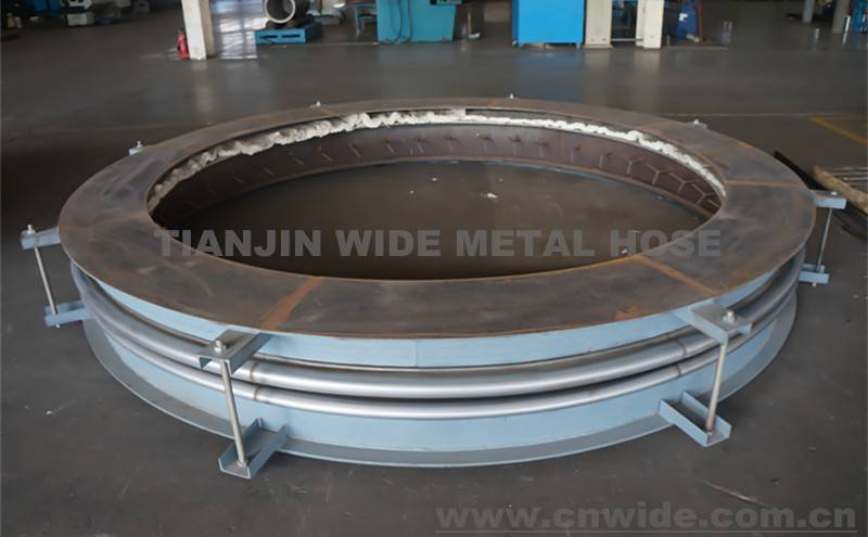 Hot Air Duct Metal Bellow Expansion Joint In Cement Plant