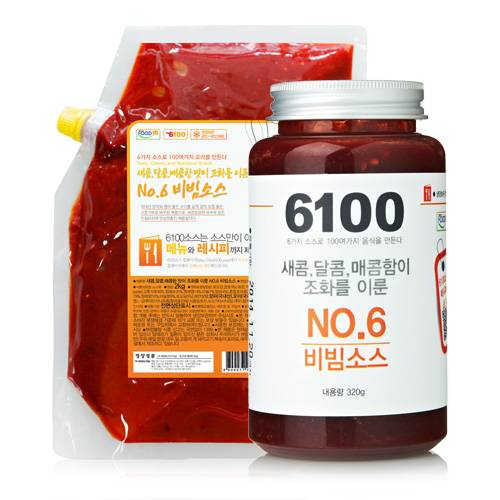No.6 Bibim Sauce for creating sweet, sour and hot taste