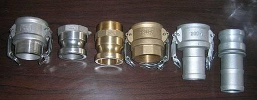 Aluminium camlock copling