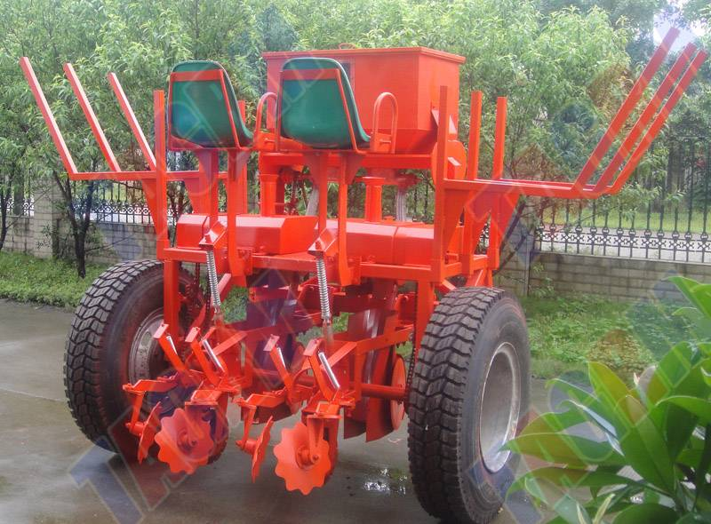 Factory outlet two rows cassava seed planter
