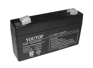 6V1.3Ah lead acid battery