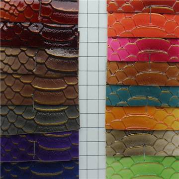 Fireproof Flocking PU Artificial Leather Material Manufacturer