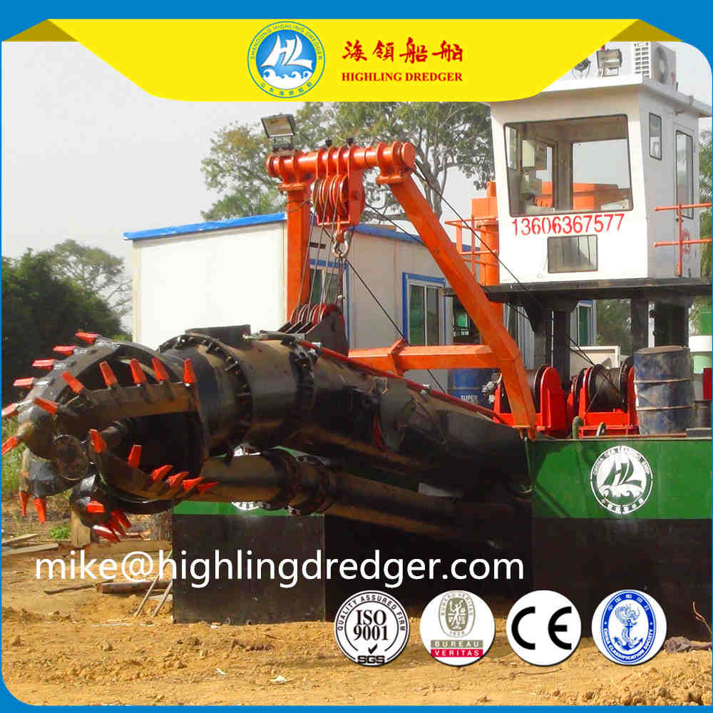 Small hydraulic cutter suction dredger for sale