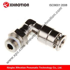 pneumatic brass push in fittings, pneumatic metal push in fitting