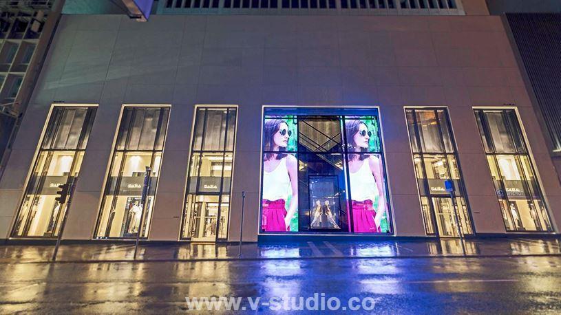 Transparent LED Display Screens by V-Studio