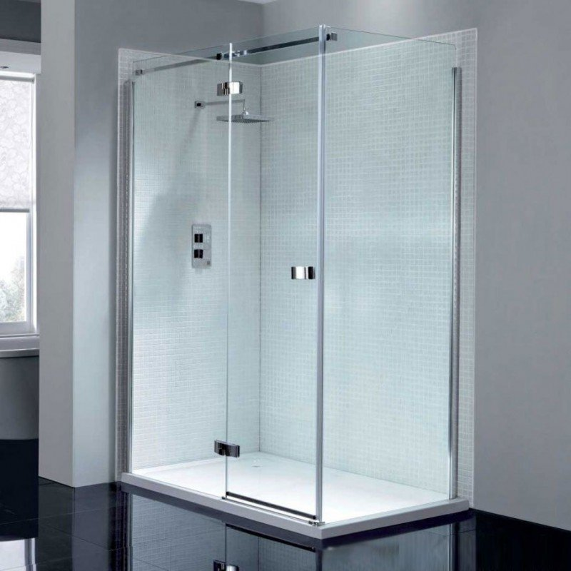Frameless 1400mm Hinge Shower Door