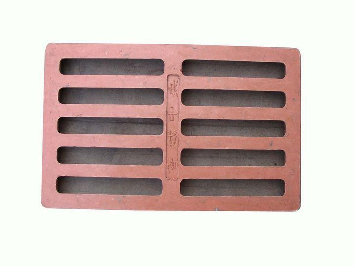 Customized retangular SMC sheet manhole cover with CE certificate