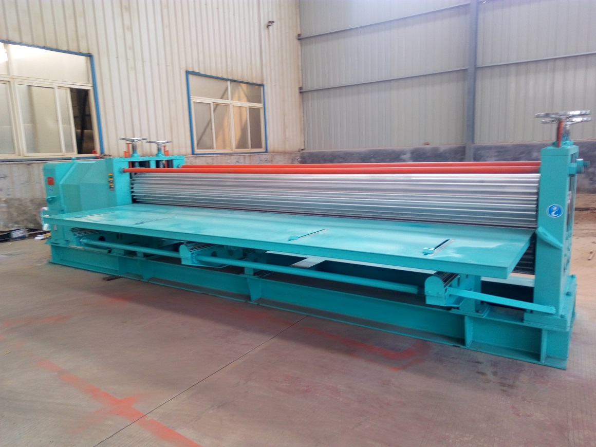 Plated steel tile equipment