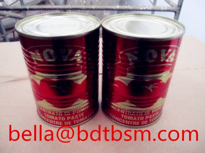 Manufacture of tomato paste