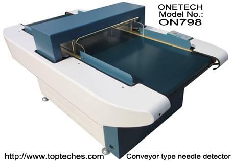 tunnel type needle detector
