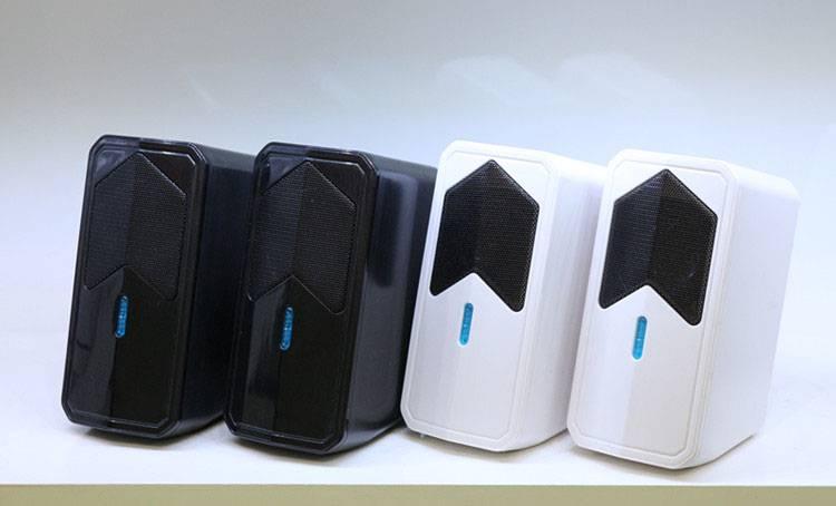 Portable fashion desktop speaker