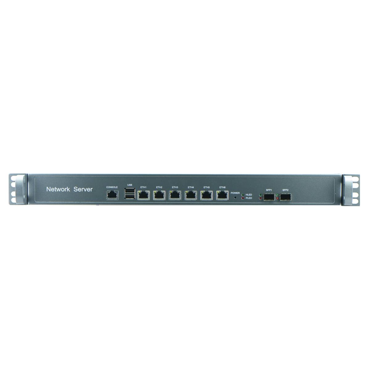 Intel H67 1U Industrial Rackmount Barebone for Network Security with 6Nic, 2SFP Option