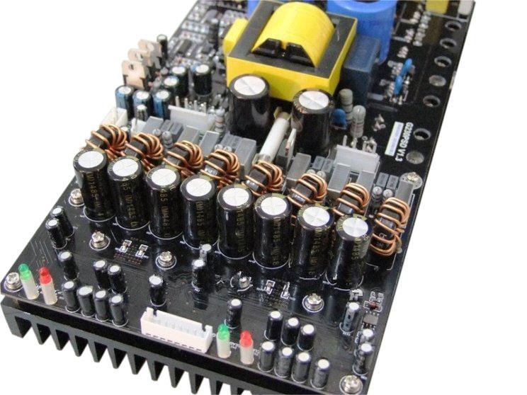 1200W DAUL TAS5630 SMPS+PFC CLASS D AMP MODULE GLOBAL POWER SUPPLY