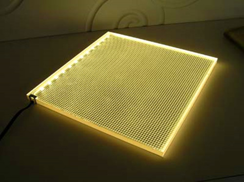 Professional light guide panels