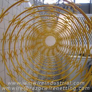 Concertina razor wire | razor ribbon | razor barbed tape