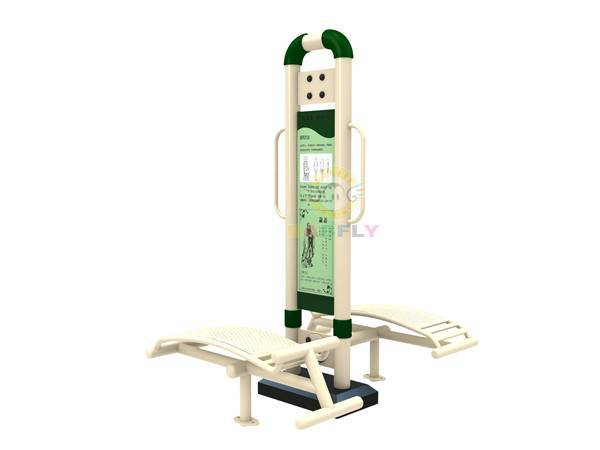 sports equipment supplier single column double seat abdominal board