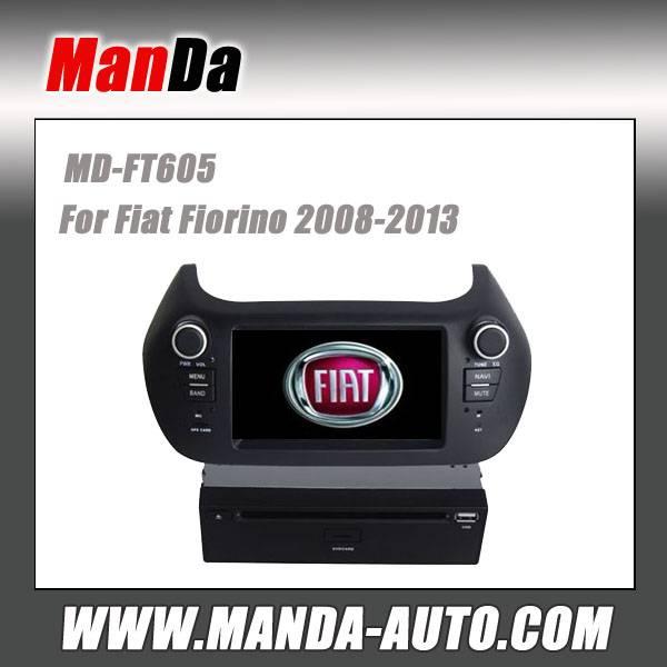 Manda car multimedia for Fiat Fiorino 2008-2013 in-dash head unit touch screen dvd gps auto radio