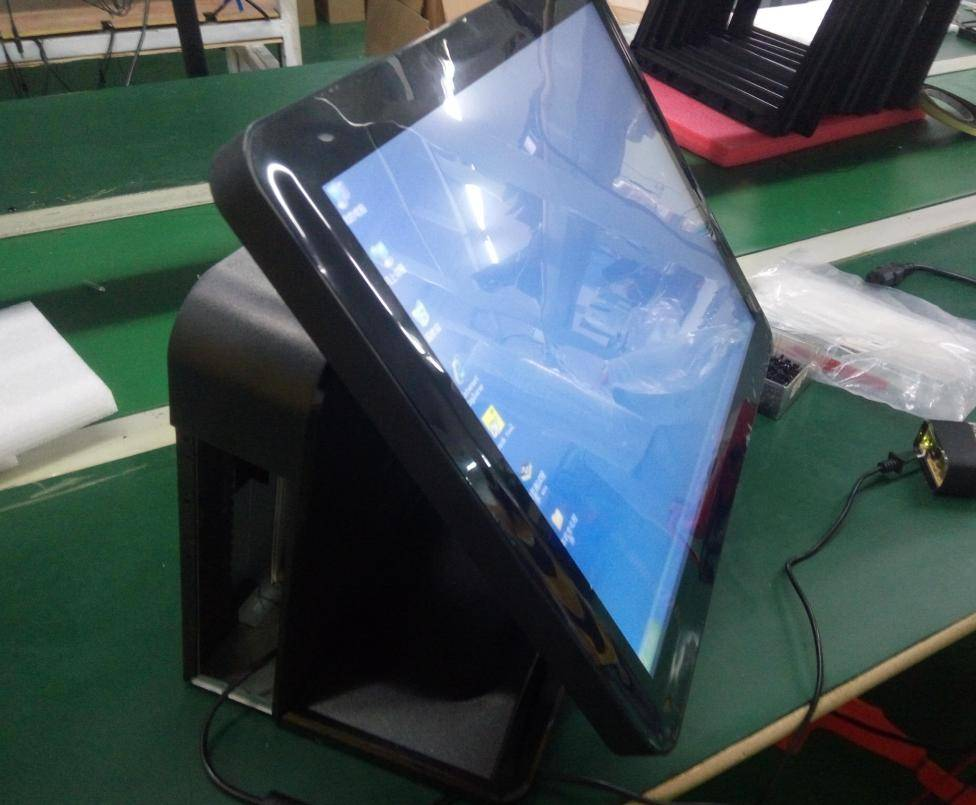 new 15 inch Touch Screen POS All in One Point of Sale system for Supermarket Restaurant