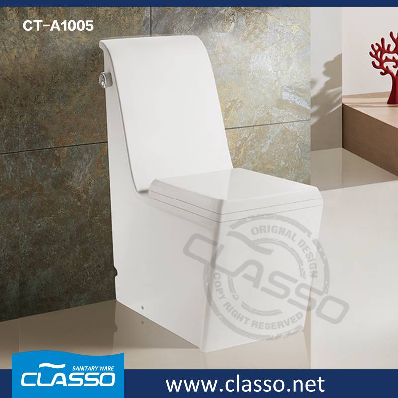 Hot Sale Middle East style Bathroom washdown toilet 4-inch one piece closet CLASSO CT-A1005