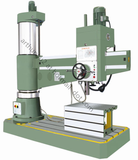 Z3063 Radial Drilling Machine (hydraulic type )