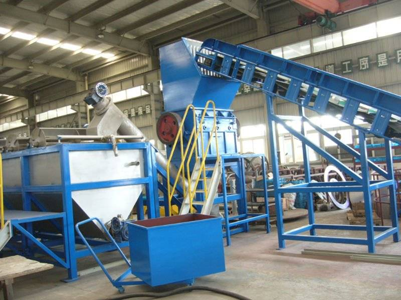PP PE HDPE Film plastic recycle machinery