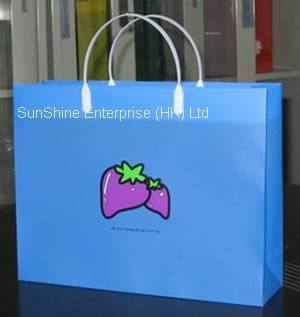 SGS eco-friendly plastic PP carrier bag