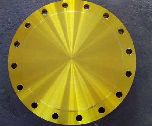 Yellow Paint Flange