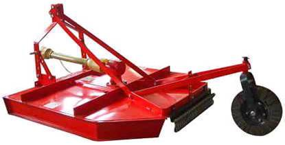 rotary mower slasher mowers topper mowers bush mower 3-point PTO driven mower tractor mower
