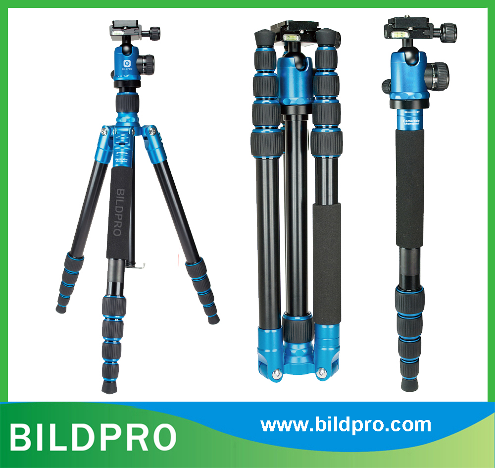 OEM Colors CNC Forge Tripod Professional Video Accessories Camera Stand