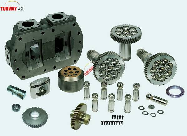 Kato hydraulic excavator parts