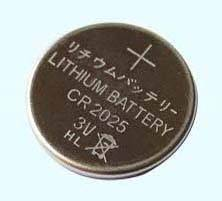 CR2025 lithium button cell/coin cell battery